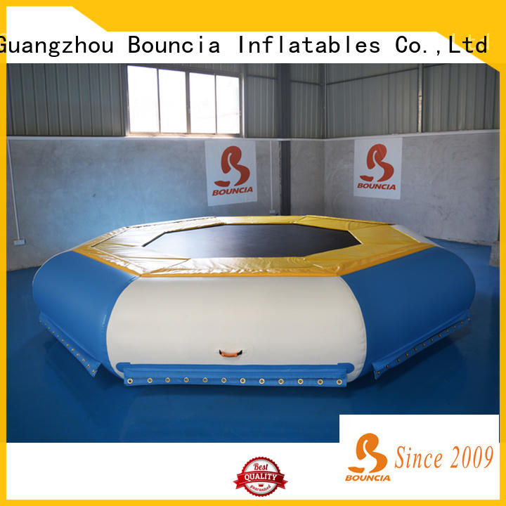 Bouncia durable inflatable water park games manufacturers for adults