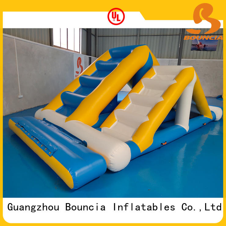 Bouncia durable inflatable floating water park customized for adults