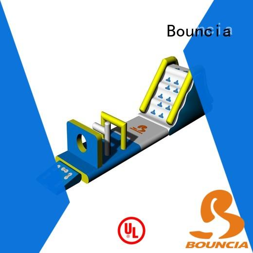Bouncia obstacle kids inflatable water park factory for outdoors