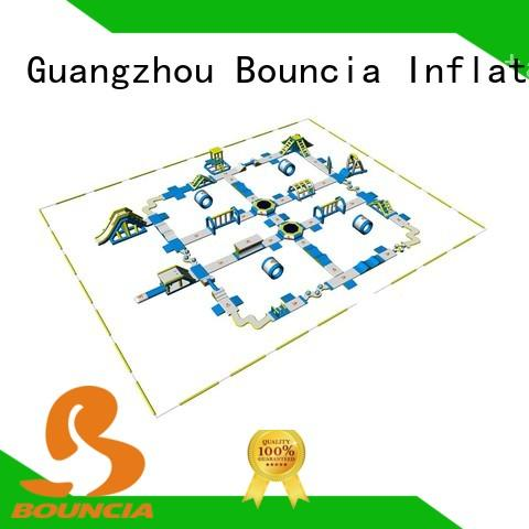 Bouncia certificated best inflatable water slide manufacturer for kids