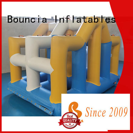 Bouncia awesome water obstacle course for sale customized for pool