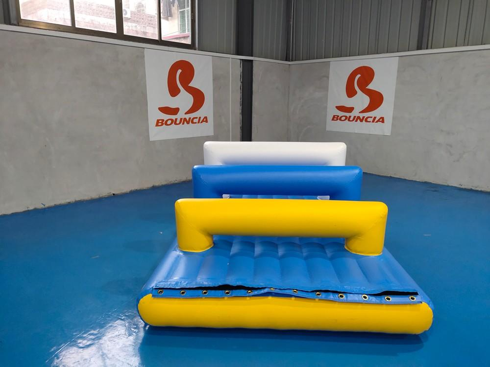 floating bouncy water park slide company for pool-2