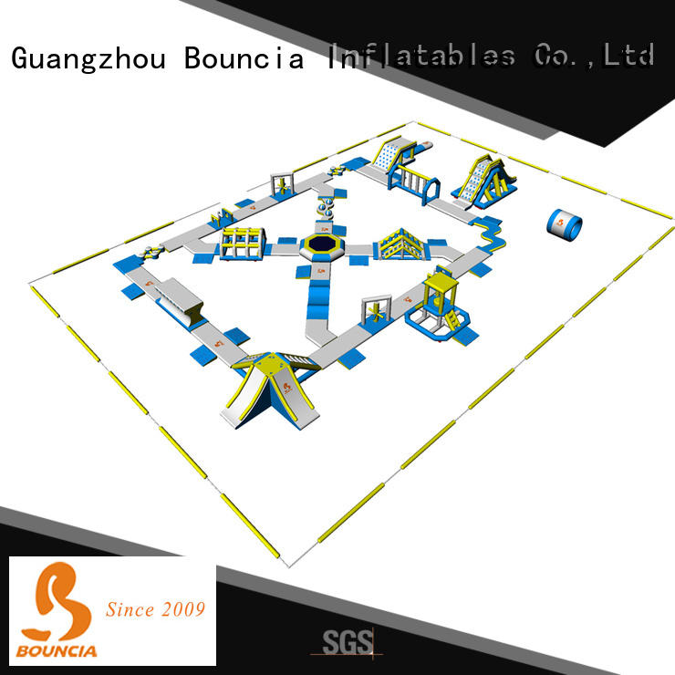 big big inflatable water park in stock splash factory price for kids
