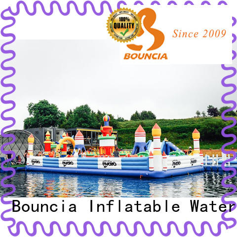 Bouncia commercial inflatable water park Suppliers for student
