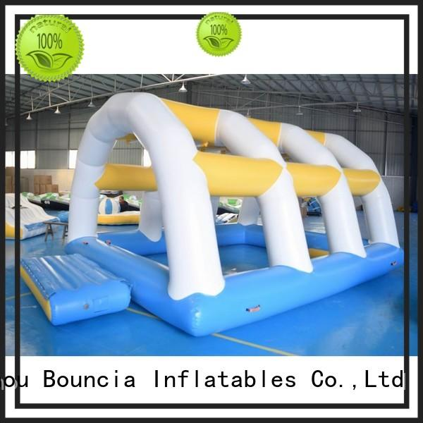 inflatable factory platform inflatable water games Bouncia Brand