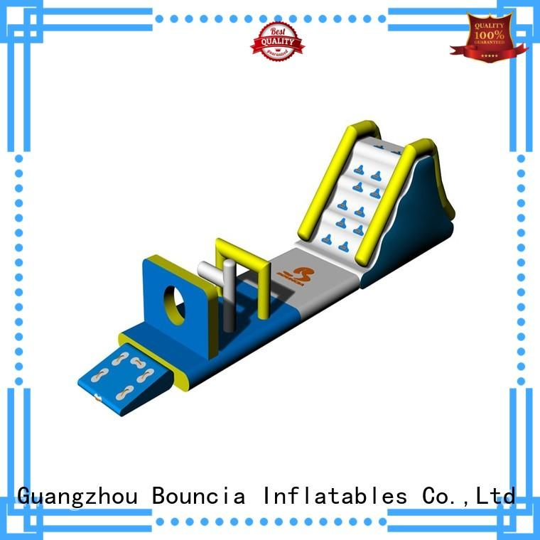 small inflatable water park aqua open inflatable floating water park Bouncia Brand