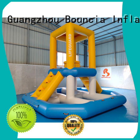 inflatable factory equipment funny Bouncia Brand inflatable water games