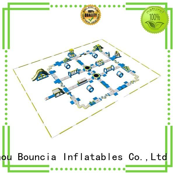 Bouncia Brand design jump guard obstacle giant inflatable