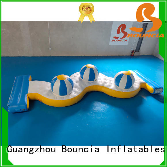guard tower bouncy water slide ramp for pool Bouncia