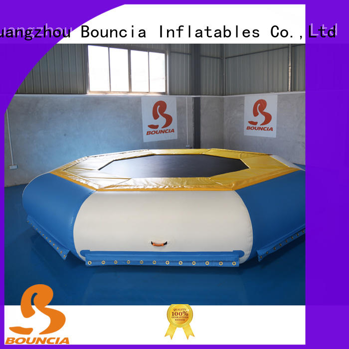 Bouncia Latest inflatable course Supply for pool