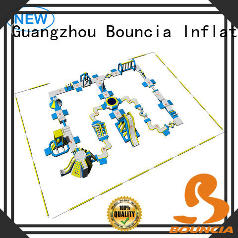 Bouncia splash water inflatables for sale wholesale for adults