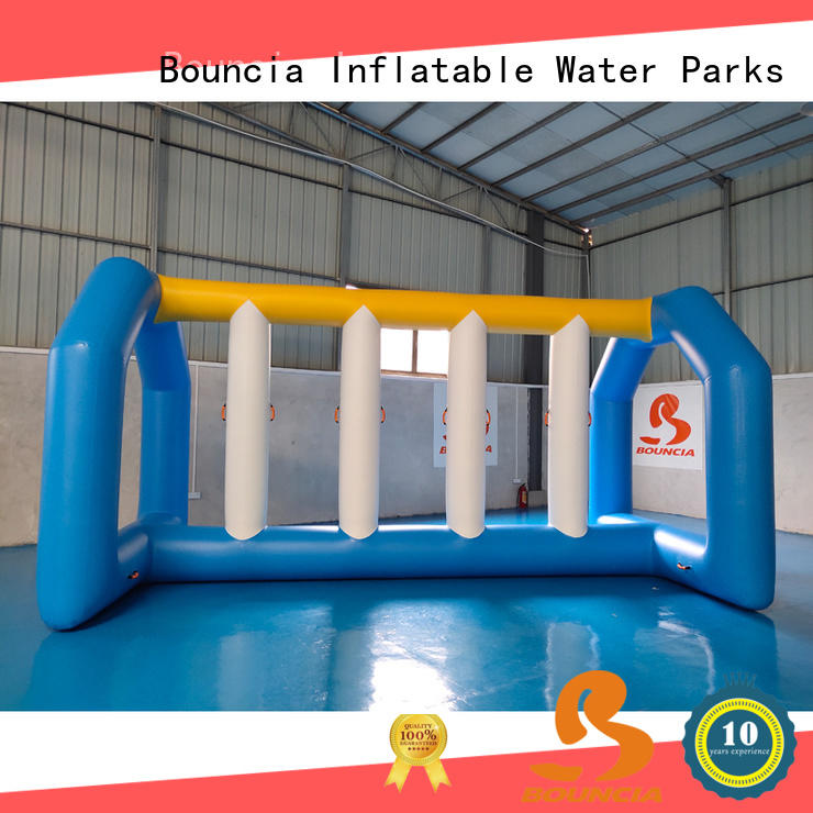 Bouncia awesome floating water sports factory for pool