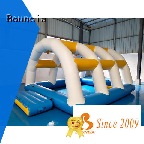 Bouncia tarpaulin inflatable water sports customized for adults