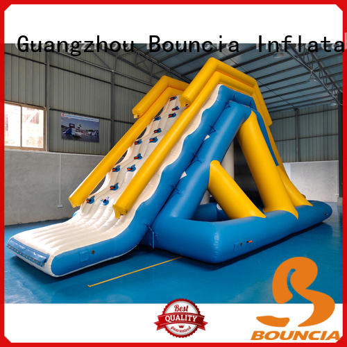 Bouncia floating aqua fun park from China for pool