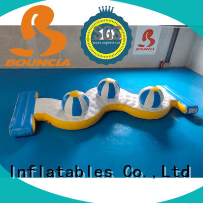 double inflatable water slide games series for adults