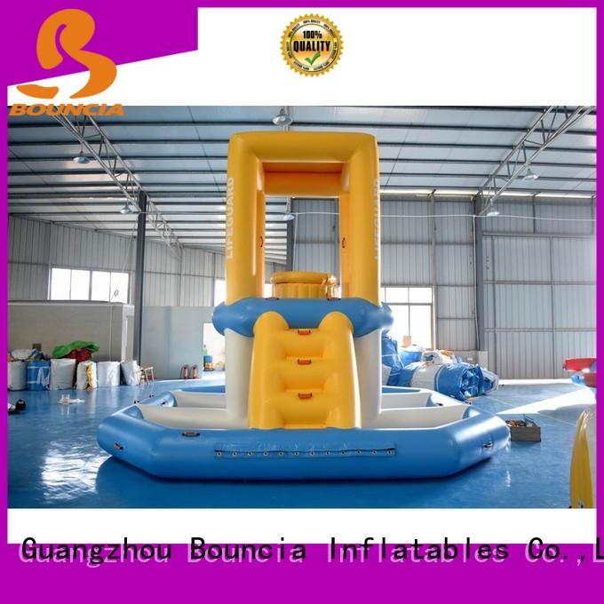 inflatable factory trendy waterpark 184ml11mw Bouncia Brand inflatable water games